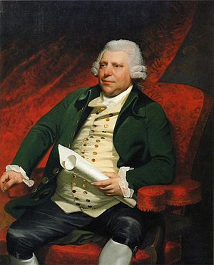 Portrait of (Sir) Richard Arkwright